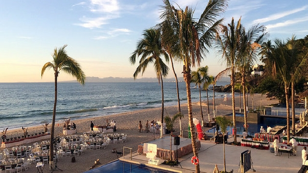 Beach and hotel Spa