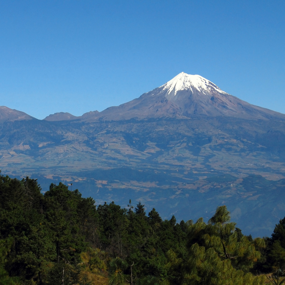 Pico de Orizaba Mountain