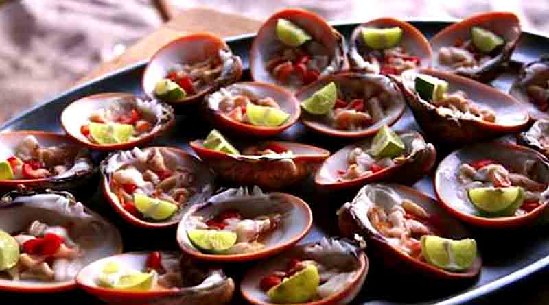 Clams at Baja California Sur