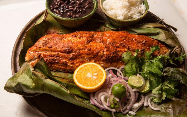 Yucatan Food tikin xic