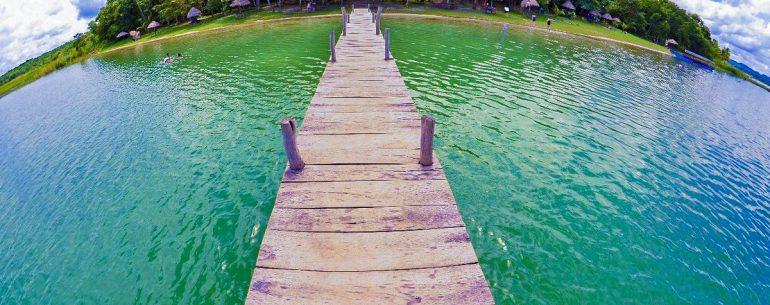 Playa El Chechenal en Guatemala
