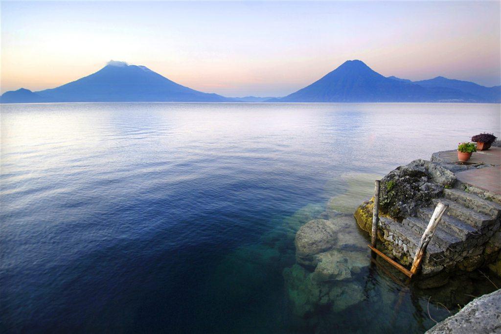 The amazing Atitlán lake in Guatemala