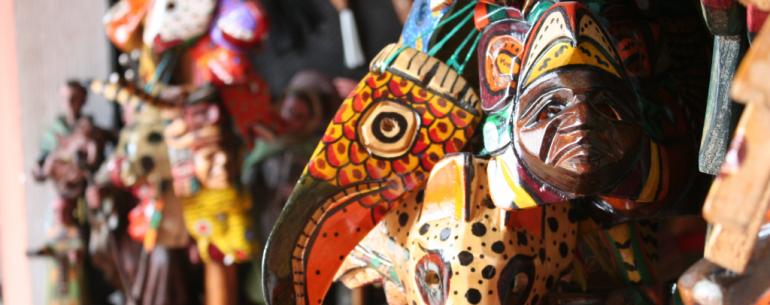 Colors and handcrafts form de Guatemalan culture