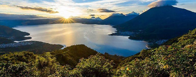 Lake Atitlan from Central America