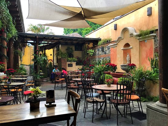 coffee shop in antigua